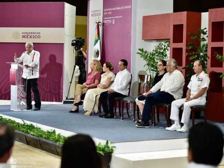 López Obrador presenta Estrategia Nacional de Turismo 2019-2024