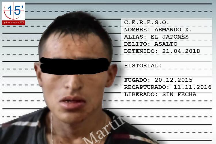 Armando X., alias El Japonés.