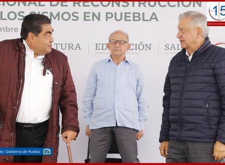 Celebra AMLO buena salud y lucidez del gobernador Barbosa