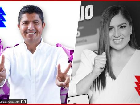 Revés para Morena en Puebla; gana PAN-PRI con 21 puntos de ventaja