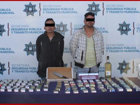 """Cae banda de """"Los Mafufos"""", presuntos asaltantes de tiendas"""