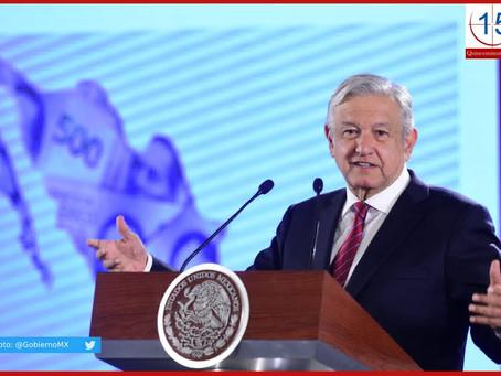 """""""No me dice a mí mucho eso"""", responde AMLO ante pronóstico de Banxico sobre crecimiento económico"""