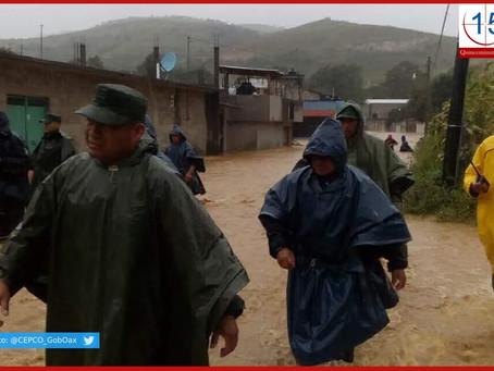 Tormenta tropical Narda deja muerto e inundaciones en Oaxaca