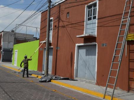 Da San Pedro Cholula mantenimiento a mil fachadas
