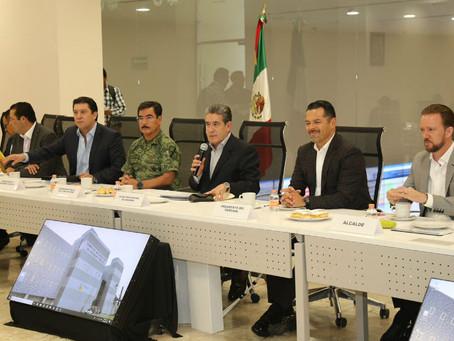 Revisan Puebla Segura y partidos políticos seguridad para el proceso electoral