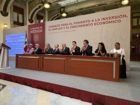 México tiene condiciones inmejorables para ser potencia económica: Obrador