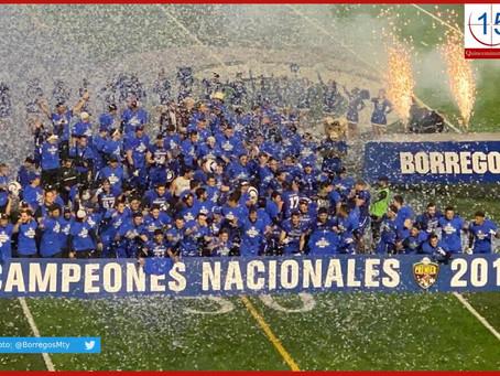 Borregos MTY se coronan campeones de la Conadeip