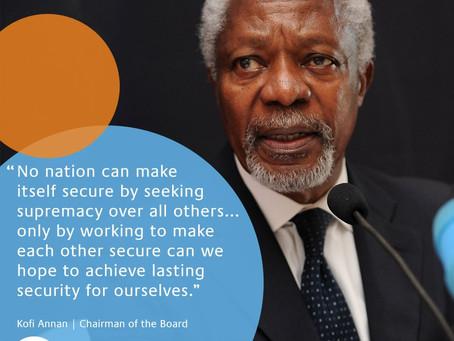 Fallece Kofi Annan, exsecretario general de la ONU