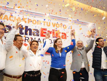 Valida TEPJF triunfo de Martha Erika para la gubernatura en Puebla