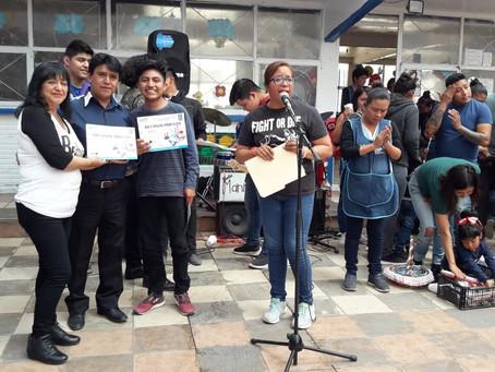 Con un concierto de rock, DIF Xoxtla cierra semana cultural