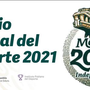 """Emite CONADE convocatoria """"Premio Estatal del Deporte 2021"""""""