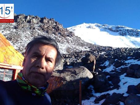 Rescatan cuerpo de alpinista muerto en el Citlaltépetl