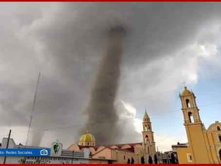 Tornados sorprenden a Puebla en San Nicolás Buenos Aires