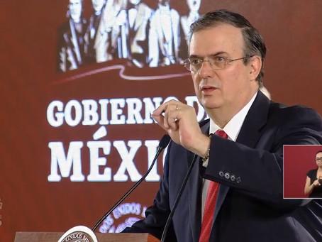 Ebrard presenta 10 acciones de apoyo a mexicanos en EUA