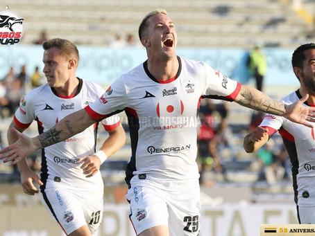 Lobos BUAP venció 2-0 a Santos Laguna