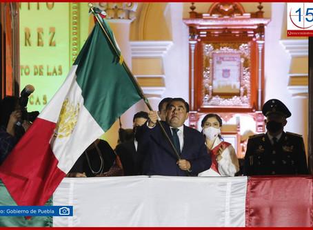 Encabezan Barbosa y Rivera ceremonia de Independencia