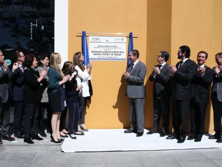 Inaugura Moreno Valle el Museo de la Música Mexicana Rafael Tovar y de Teresa