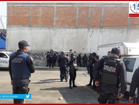 Recupera SSP espacios tomados por la delincuencia en el mercado La Acocota