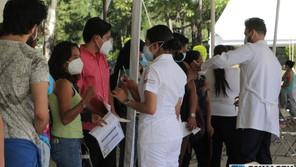 Vacunación masiva para rezagados en Puebla capital, anuncia Brigada Correcaminos