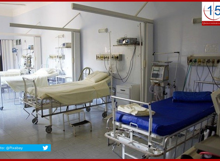 Hospitales Covid reportan un promedio de ocupación del 14.4 %