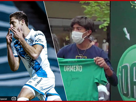 Se va Ormeño del Club Puebla tras firmar por cuatro años con León