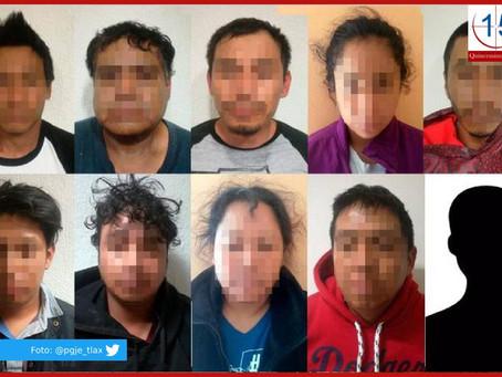 Cae banda de secuestradores en Acatzingo y liberan a tres víctimas