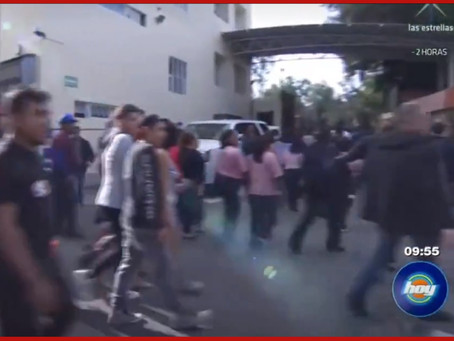 Genera pánico falsa alerta sísmica de Televisa