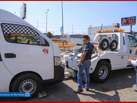 Emprende SMT operativos contra transporte pirata