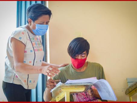 Continúa IEEA con aplicación de exámenes para educación básica