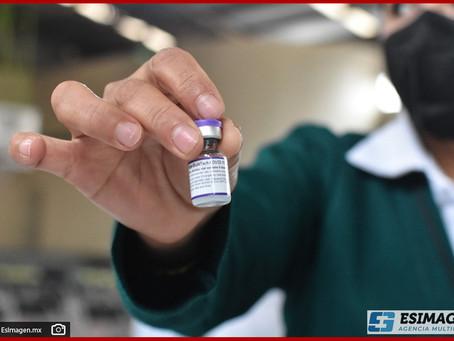 En Puebla, 67 mil menores de 12 a 17 años recibirían la vacuna de Pfizer