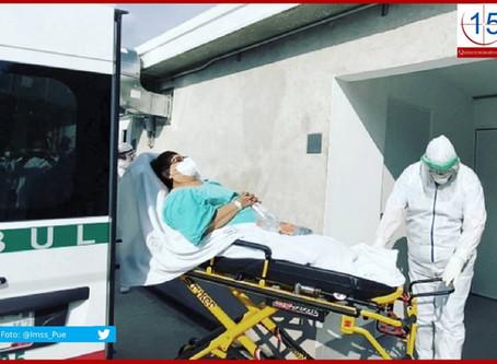 Confirma Salud Puebla 175 nuevos contagios por Covid-19