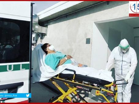 Incrementan hospitalizados por Covid-19 en Puebla