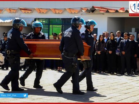 Con homenaje póstumo policías despiden a Yasmín Ortiz