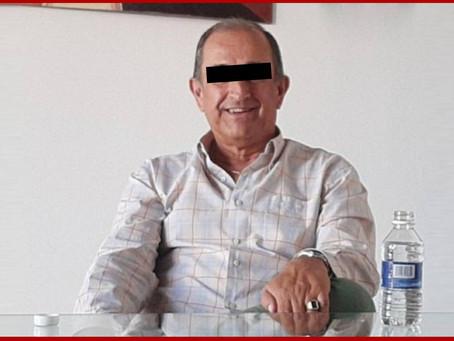 Hospitalizan a Luis Cobo, tras sufrir un infarto durante audiencia