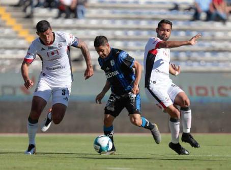 Lobos BUAP vence 3-1 a Querétaro y se acerca a zona de liguilla
