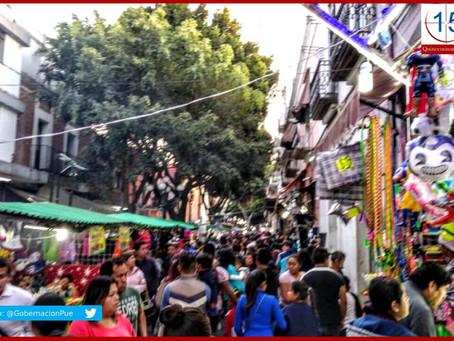 Cientos de ambulantes se instalan en Centro Histórico por Día de Reyes