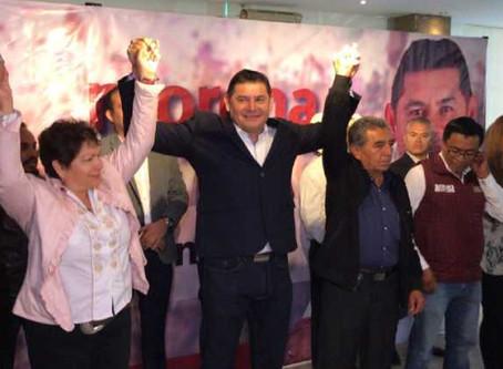 Abraham Quiroz realiza alianza con Armenta para trabajar por un proyecto alternativo