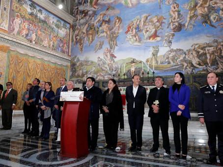 Concluyen visitas a la réplica de la Capilla Sixtina