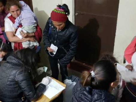 Este fin de semana fueron atendidos 905 migrantes centroamericanos: SGG