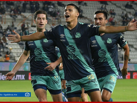 Puebla se impone 1-3 a los tuzos en noche de golazos