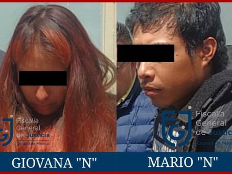 Trasladan a la CDMX a presuntos femincidas de Fátima