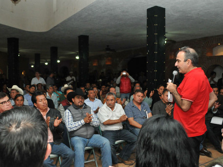 Se reúne Estefan Chidiac con militancia de Izúcar de Matamoros