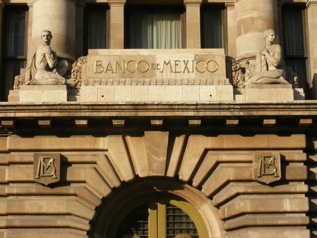 Banco de México reduce perspectiva de crecimiento para 2018 y 2019