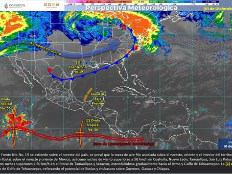 Concluye temporada de ciclones en las cuencas del Atlántico y Pacífico