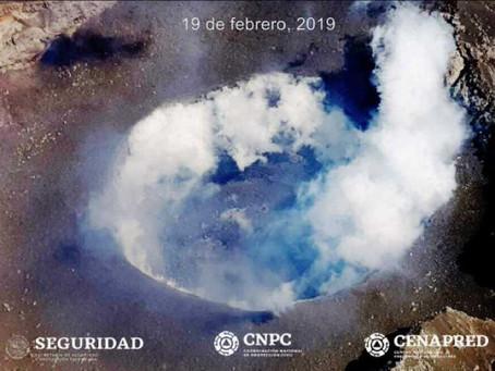 Identifican formación deldomo 82 en el Popocatépetl