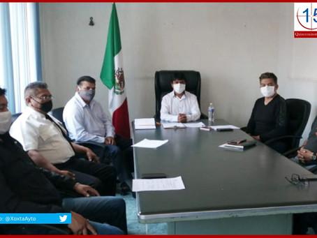 Ante primer caso de contagio por Covid-19 en Xoxtla, Ángel Flores toma medidas más estrictas