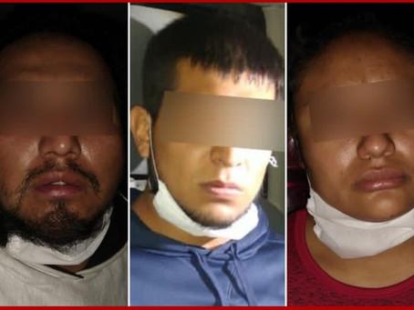 Rescatan en Amozoc a 87 migrantes; detienen a tres presuntos polleros