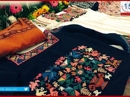 Piden reconocer textiles y bordados de Hueyapan como patrimonio cultural