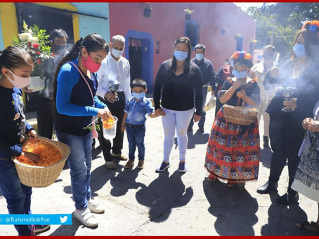 Sobreviven altares de Huaquechula y Tochimilco pese a pandemia