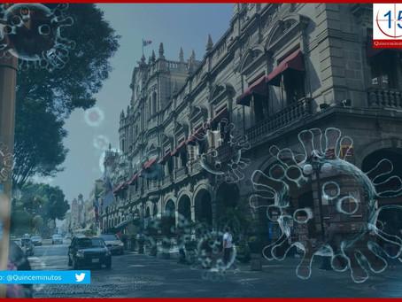 Puebla capital concentra el 63 % de los contagios de Covid-19